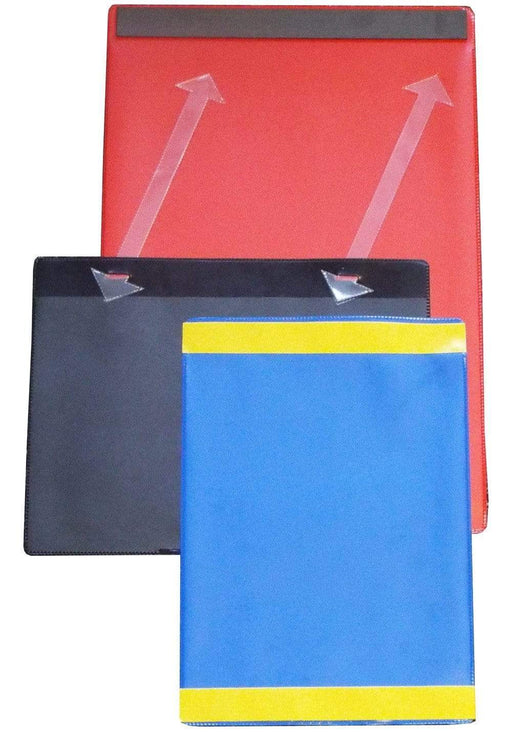 Colour Tie On Pocket - Pack 10