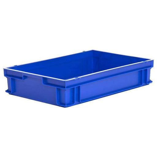 OFFER!! 10 x Blue Euro Stacking Containers (600x400x120mm) M200A