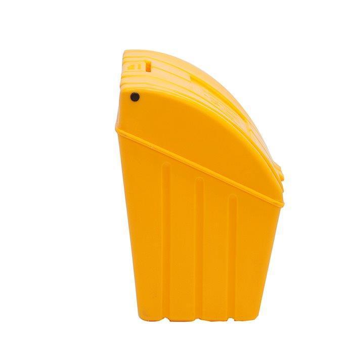 Yellow Grit Bin Side
