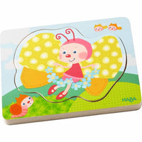 HABA Wooden Puzzle Butterfly Magic