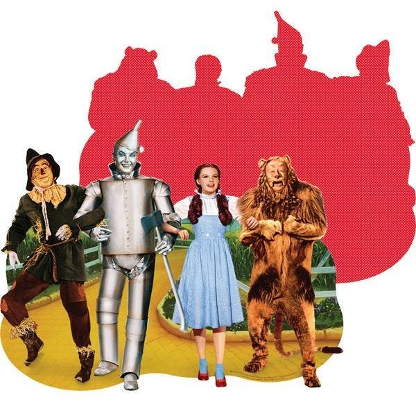 Paper House Productions - Wizard of Oz Yellow Brick Road Shaped Puzzle