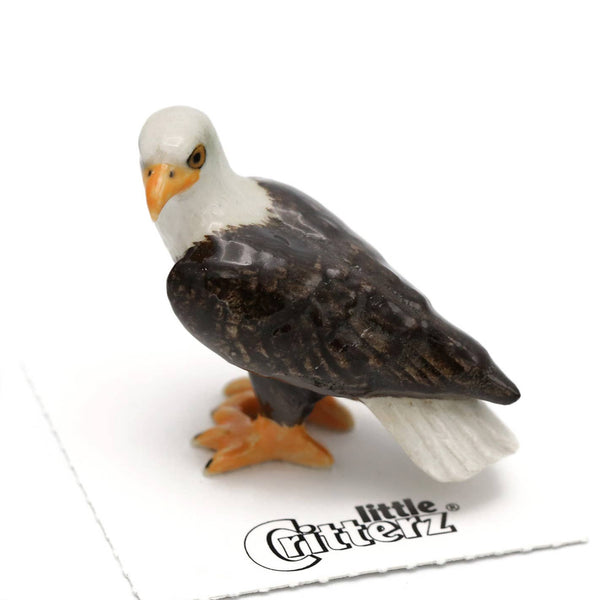 "Little Critterz ""Freedom"" Bald Eagle Porcelain Miniature"