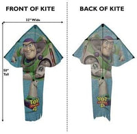 "X-Kites Skyflier, 50"" Tall Nylon Toy Story Buzz Light Year Kite"
