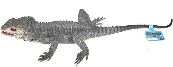 "Mamejo Nature 12"" Grey Spiny Lizard Toy Figure"
