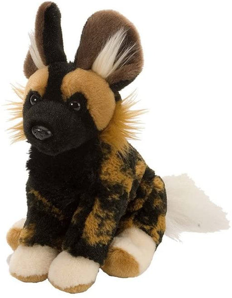 Wild Republic African Wild Dog Plush, Cuddlekins 8 Inches