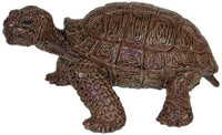 Mamejo Nature Large Tortoise Rubber Toy Figurine 5.5 Inch