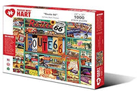 Puzzles with Hart Route 66 Artist Kate Thacker 1000 Piece Puzzle