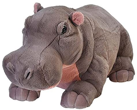 Wild Republic Jumbo Hippo Plush, Cuddlekins  30 Inches