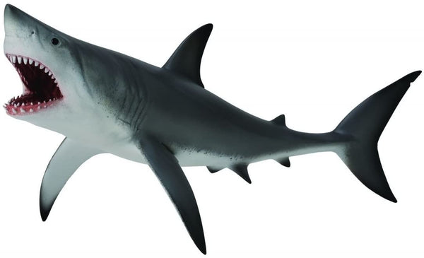 CollectA Sea Life Great White Shark, Open Jaw Toy Figure