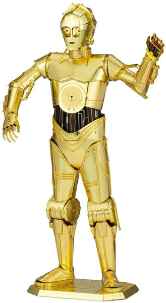 Metal Earth Fascinations Iconx Series Star Wars C-3PO 3D Metal Model Kit