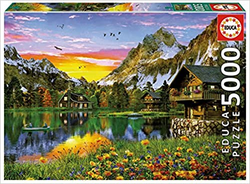 Educa Alpine Lake 5000 Piece Puzzle