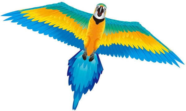 WindNSun X-Kites Rainforest Macaw Nylon Kite, 61""