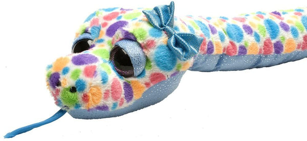 Wild Republic Snake Plush Polka Dots, 54""