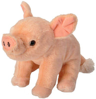 Wild Republic Pig Baby Plush, Stuffed Animal, Plush Toy, Gifts for Kids, Cuddlekins 8 Inches