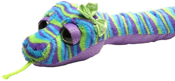 Wild Republic Snakes, Snake Plush Stripes, 54""