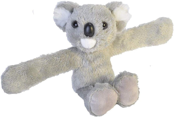 Wild Republic Huggers Koala Plush Toy, Slap Bracelet 8""