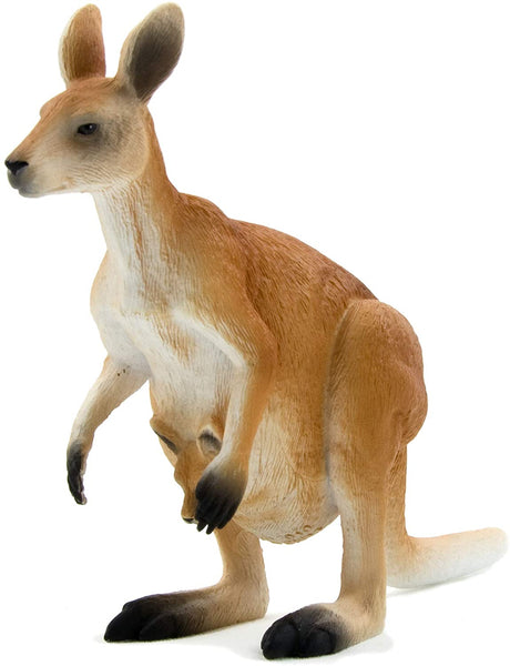 MOJO Kangaroo Realistic International Wildlife Hand Painted Toy Figurine