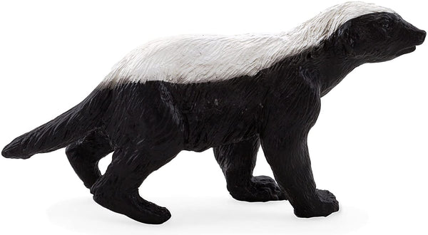 MOJO Honey Badger Male Realistic International Wildlife Hand Painted Toy Figurine