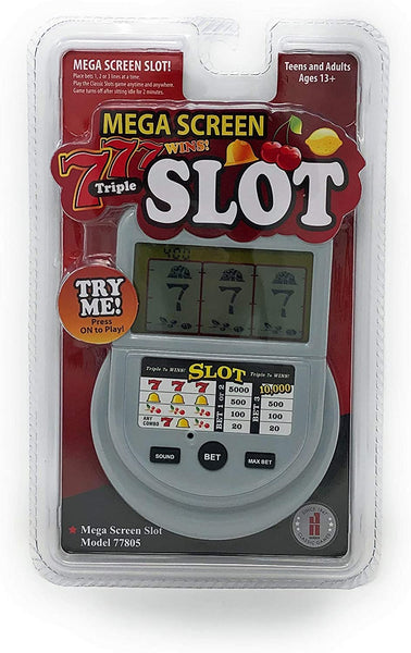 Classic Game Collection Mega Screen Slot Machine Handheld Game