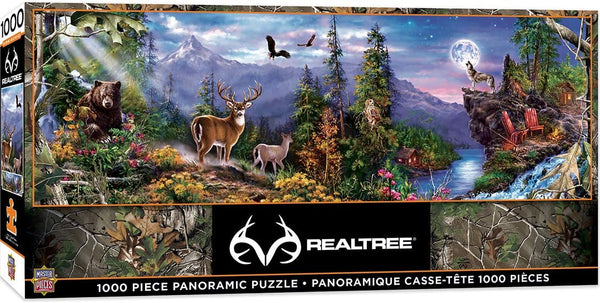 MasterPieces Realtree 1000 piece Panoramic jigsaw puzzle