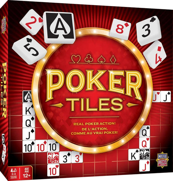 Masterpieces Poker Tiles Board Game