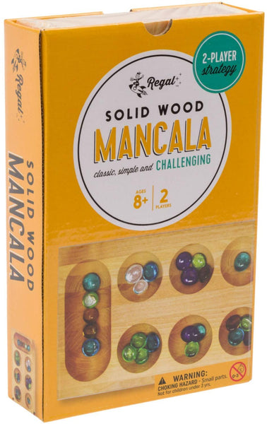 Regal Games Solid Wood Mancala