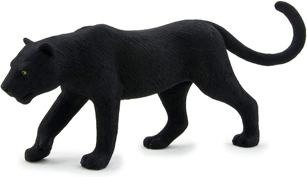MOJO Black Panther Realistic International Wildlife Hand Painted Toy Figurine