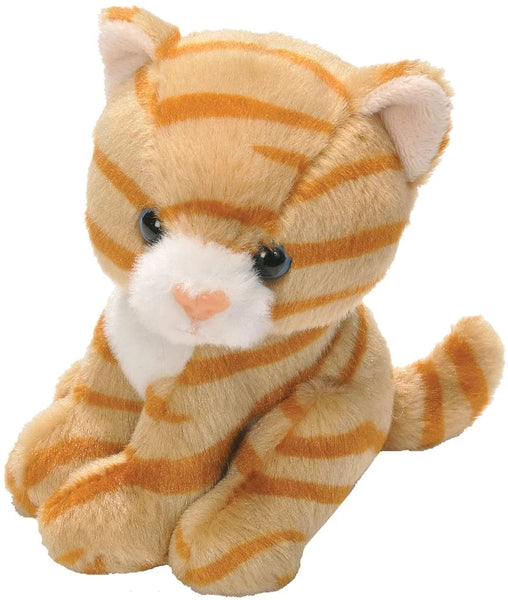 Wild Republic Cuddlekins Lil's Sitting Cat Orange Tab 15cm,