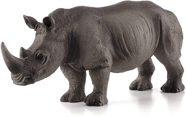 MOJO White Rhinoceros Rare Realistic International Wildlife Hand Painted Toy Figurine