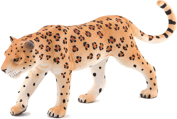 MOJO Leopard Realistic International Wildlife Hand Painted Toy Figurine
