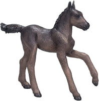 MOJO Arabian Foal Black Colored Realistic Equestrian Horse Club Hand Painted Toy Figurine