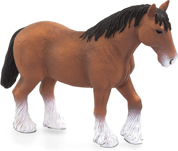 MOJO Clydesdale Toy Figurine