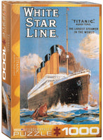 Save to Droplist Roll over image to zoom in EuroGraphics Titanic White Star Line 1000 Piece Puzzle