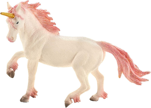 MOJO Unicorn (Pink) Realistic Fantasy Hand Painted Toy Figurine