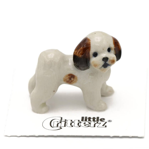 "Little Critterz ""Sultan"" Shih Tzu Porcelain Miniature"