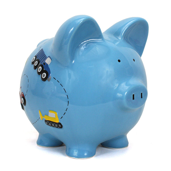 Child to Cherish Construction Pig Bank