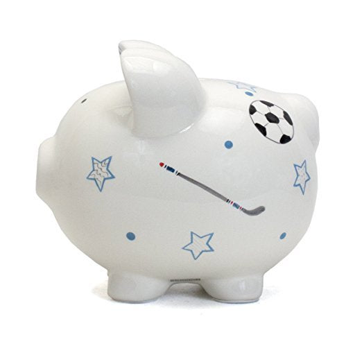 Child to Cherish Sports Piggy Pig