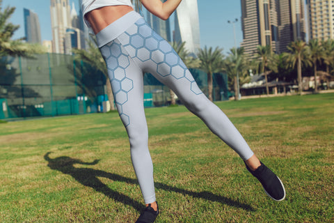 FWLR Ocean Geometric Leggings