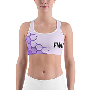 FWLR Plum Geometric Racer Back Top