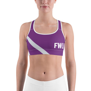 FWLR Plum Striped Racer Back Top