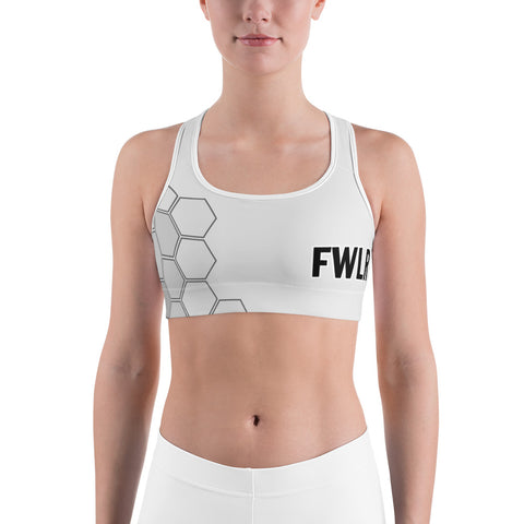 FWLR Snow Geometric Racer Back Top
