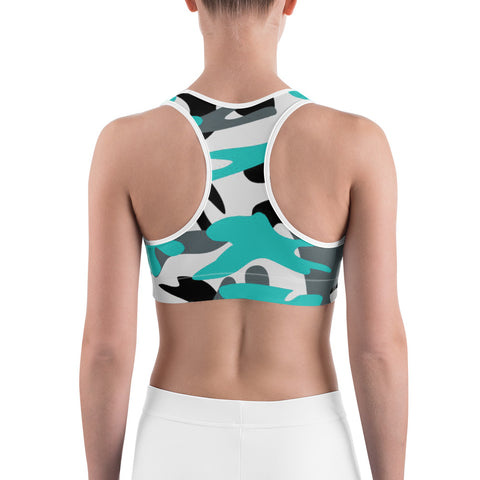 FWLR Winter Camo Racer Back Top
