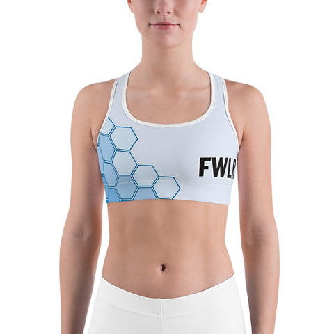 FWLR Ocean Geometric Racer Back Top