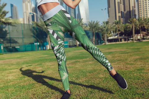 FWLR Monstera Leggings