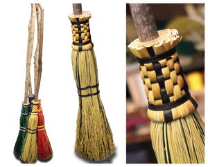 Wizard Brooms | Backwoods Broom Company