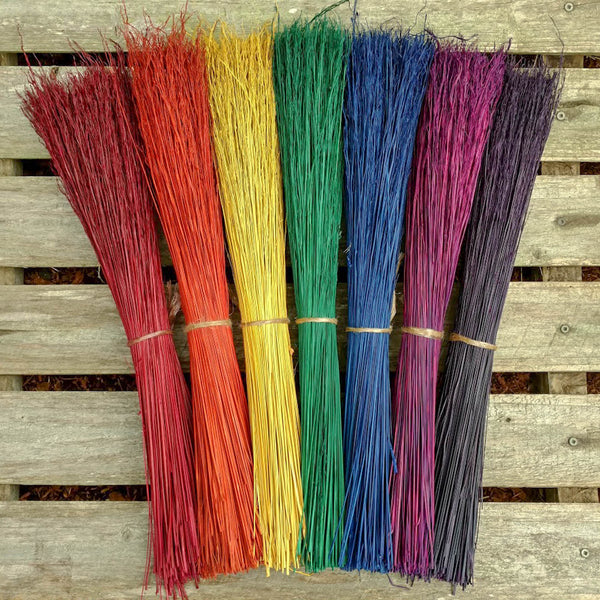 Handmade Kitchen Broom - CHOOSE YOUR OWN COLORS