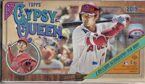 2019 Topps Gypsy Queen Baseball Personal Box Break Opened Live