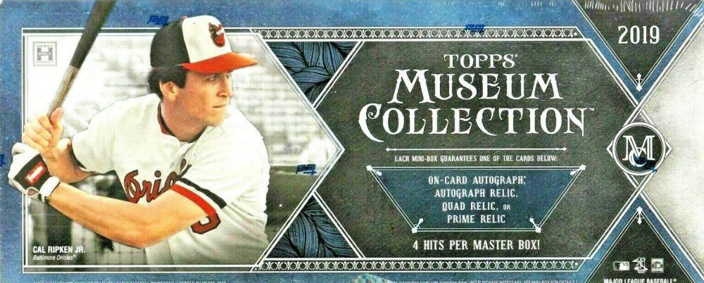 2019 Topps Museum Collection Baseball Pyt 11 Serial Number Break 1 50 Bc Giveaway
