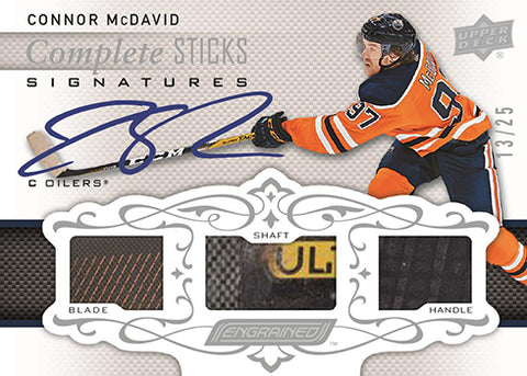NEW RELEASE | 2018/19 Upper Deck Engrained Hockey 1-Box Break #19 *3 RANDOM TEAMS EACH*