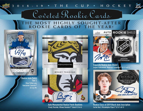 2018-19 Upper Deck The Cup Hockey 6-Box Case Break #12 *PICK YOUR TEAMS* ($200 GIVEAWAY IF 2+ TEAMS)